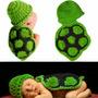 Disfraz Capa De Tortuga Tejida A Crochet Para Book Fotos Beb