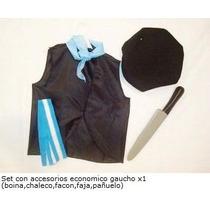 Set De Disfraz De Gaucho Disfraces Patrios