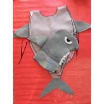 Disfraz Tiburon Niños Animales Animalitos Concert Fiesta