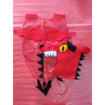 Disfraz Dragon Niños Animales Animalitos Concert Fiesta