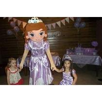 Muñeco Cabezon Disfraz Princesita Sofia