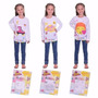 Kit Remera Para Pintar Disney Soy Luna Newtoys