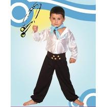 Disfraz De Gaucho - Talles Del 2 Al 12 Disfraz Patrios