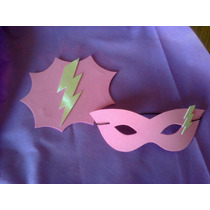 Capa Doble Friselina Barbie Super Princesa, Souv + Antifaz