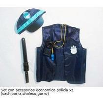 Disfraz Set De Policias Con Accesorios