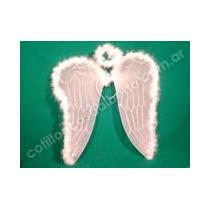 Set Alas Angel Con Aureola Grande -ventas Por Mayor Y Menor