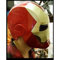 Casco Ironman Para Chicos,niños, Mascara Disfraz, Avengers
