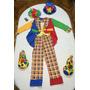 Disfraz De Payaso Original Con Todo Importado 5 A 7 Anos