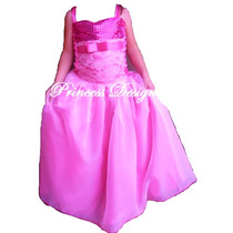 Disfraz Vestido De Princesa Barbie Pop Star Tori
