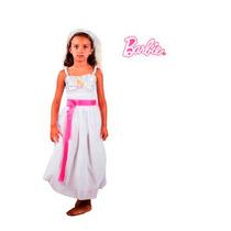 Disfraz Barbie Quiero Ser Novia Talle 0
