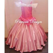 Disfraz Vestido De Princesa Aurora Bella Durmiente