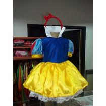Vestido Disfraz De Blancanieves.- Book Niñas - Tematicos
