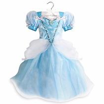 Disfraz Cenicienta Con Luz Original Disney Store!