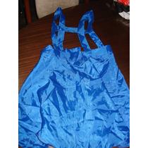Enterito Azul Disfraz Nena Vestido
