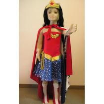 Disfraz Mujer Maravilla Niña