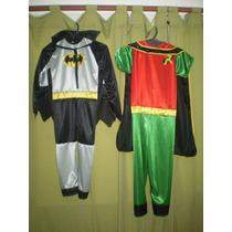 Disfraz De Batman O Robin C/ Capa Y Antifaz!!!!!!!!!! C/u