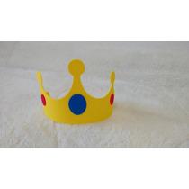Souvenirs Goma Eva Corona Rey Príncipe X 10 Unidades