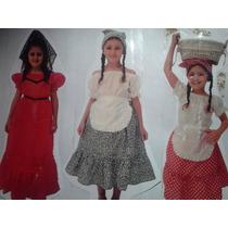 Disfras De La Negrita ,paisana,dama Antigua,caballero,gaucho