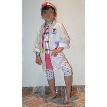 Disfraz De Doctora Juguetes - Sólo Delantal Estampado
