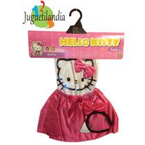 Disfraz Kitty Saia Original Sulamericana