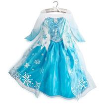 Disfraz Elsa Frozen Vestido Disney Store Original 100%!!!