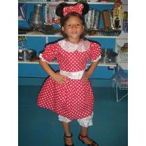 Venta Disfraz Minnie Mouse 3 A 5 Años