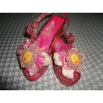 Zapatos Princesa Aurora T 25/6 Originales Disney Store Usa