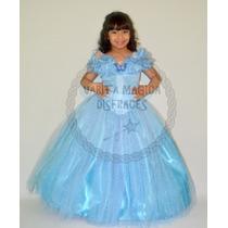 Disfraz Cenicienta 2015 Vestido Deluxe Princesa Disney
