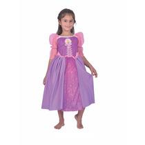 Disfraz De Rapunzel Con Licencia Disney Original New Toys