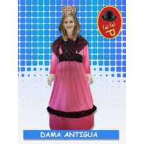Disfraz Dama Antigua Manga Larga