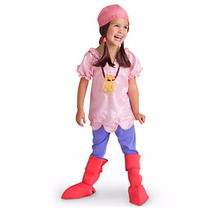 Disfráz Disney Store Izzy Jake Pirata - Regalo Día Del Niño