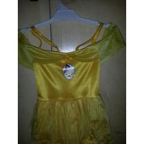 Disfraz Princesa Bella Original Licencia Disney Precioso T.2