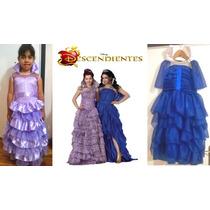 Vestido Disfraz Descendientes Evie Y Mal Coronación
