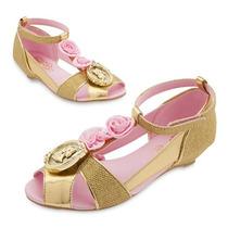 Zapatos Disfraz Princesa Bella Disney Store Usa Original