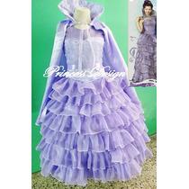 Disfraz Vestido De Princesa Mal Descendente.