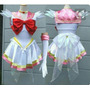 Disfraz De Sailor Moon. Niñas. Hermoso