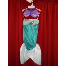 Disfraz De Ariel De La Sirenita!!