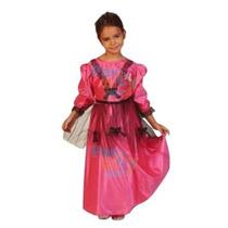 Disfraz De Dama Antigua Nena Fiestas Patrias Super Económico