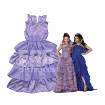 Vestido Mal Y Evie - Disfraz Descendientes Coronación