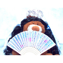 Disfraz Dama Antigua Peineton Mantilla Abanico Brovillnet