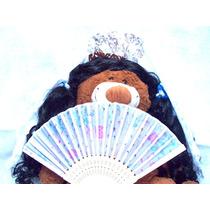 Disfraz Dama Antigua Pollera Mantilla Peineton Abanico