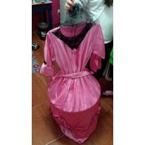 Disfraz Vestido De Dama Antigua