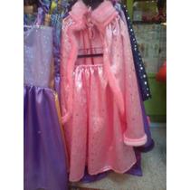 Disfraz De Princesa Capa Y Pollera...cotillon...cumpleaños