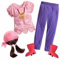 Disfráz Disney Store Izzy Jake Pirata - Regalo De Navidad