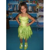 Disfraz Campanita Tinkerbell De 3 A 5 Años