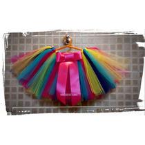 Tutus - Disfraz - Bailarinas Hermosos Variedad De Colores -