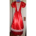 Disfraz Vestido Dama Antigua, Negrita Mulata Y Paisanita