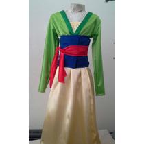Traje Disfraz De Mulan