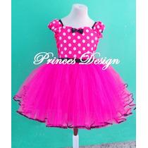 Disfraz De Minnie Para Bebas Y Niñas Tutu