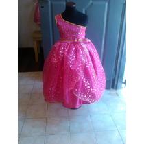 Vestido Disfraz Barbie Escuela De Princesas